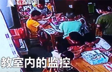 Shock After China Kindergarten Teacher Allows Monitor to Whip Classmates
