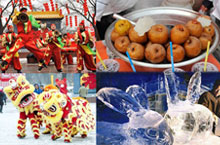 Celebrate Spring Festival at Taiyuan's Largest Ever Temple Fair