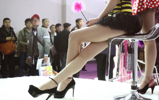 Attendance Swells at 2012 Shanghai Sex Expo. Mar 20, 2012