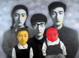 Top chinese contemporary artists zhang xiaogang