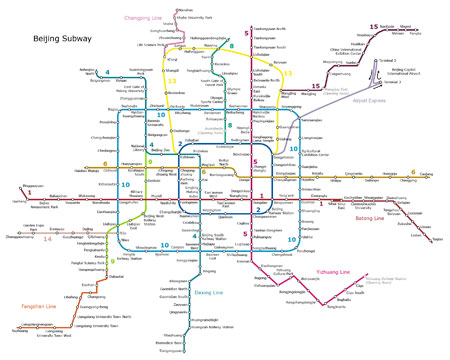 Subway, Metro map apps