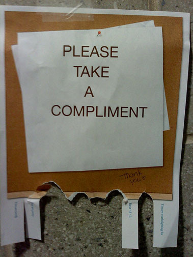 Compliments in China