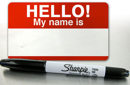 Hello! My Name Is sticker