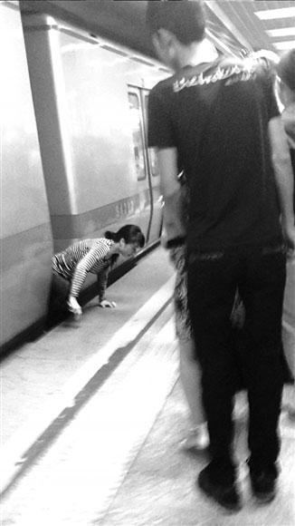 Beijing Woman Somehow Survives Subway Jump Suicide Attempt