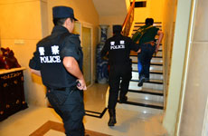 Police Raid Crime Lord's Mansion in Guangzhou