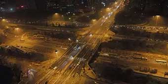 Beijing Replaces Huge Bridge in 43 Hours, Foreign Netizens Shocked