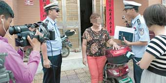 New inventive traffic Law in Sanya: make you lose face