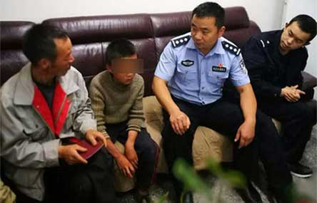 Chinese Boy, 10, Travels 100km in 24 Day Running Away From Home