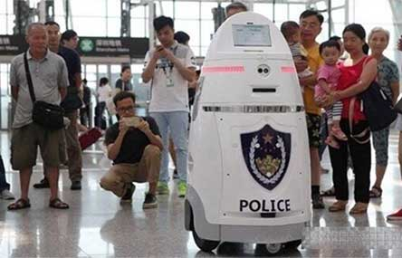Taser-Weilding Robo Cops Deployed for Beijing Crowd Control