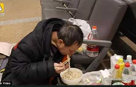 Chinese Man Lives at Beijing Airport Because Wife Won't Let Him Drink