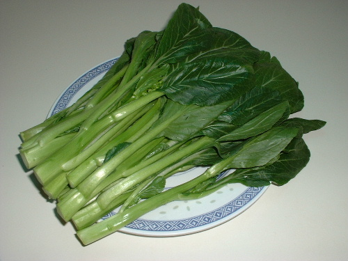 Chinese Vegetable Recipe (Choy Sum) Recipes — Dishmaps