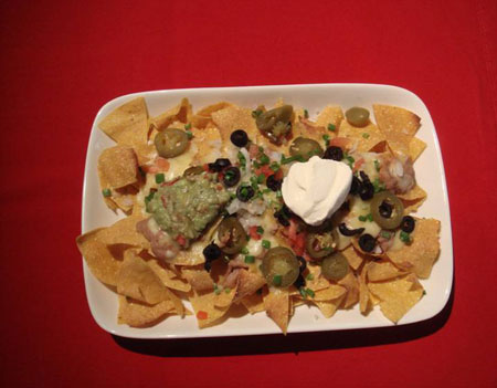 Mexican Wave's supreme nachos