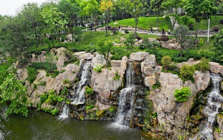 Chongqing:  A Walk in the (Free) Park