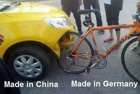 china worst chinese bad germany funny stuff things echinacities cars bicycle carhumor